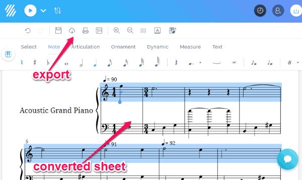 3 Free Online MIDI to Sheet Music Converter