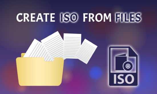 create iso from files