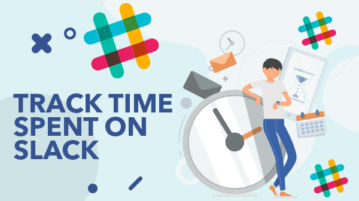 find time spent on slack