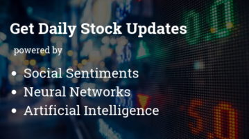 Get Free Daily Stock Updates Powered By Social Sentiment, AI, Neural Networks