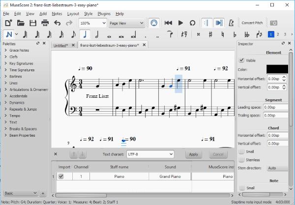 5 Free Sheet Music Editor Software for Windows