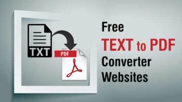 online text to pdf converters