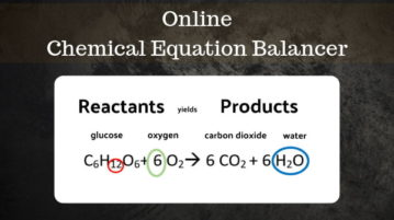 5 Online Chemical Equation Balancer Websites Free