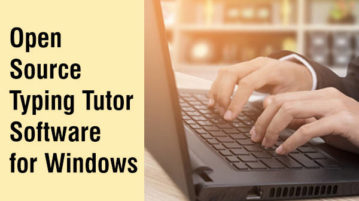 open source typing tutor software