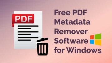 pdf metadata remover