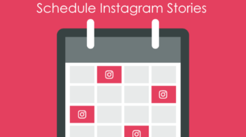 schedule instagram stories
