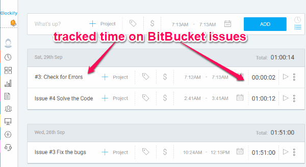 How to Track Time Spent on BitBucket Issues Automatically