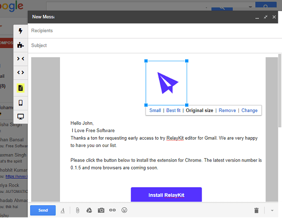 Free Drag And Drop Html Editor For Gmail With Newsletter