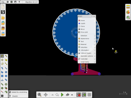 free gear simulator software