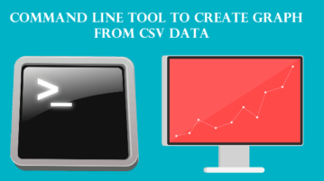 Command Line Tool to Create Graph from CSV Data
