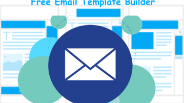 Email Template Builder with test emails