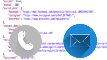 Extract Email, Phone Number from a Webpage URL
