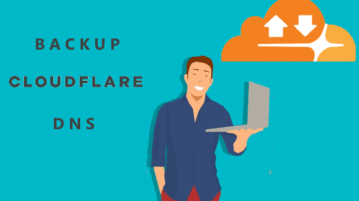 Free CloudFlare DNS Backup Tool Flares