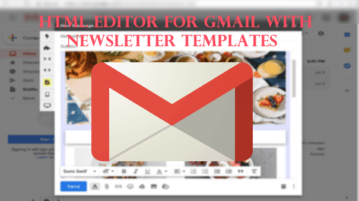 Free Drag and Drop HTML Editor for Gmail with Newsletter Templates