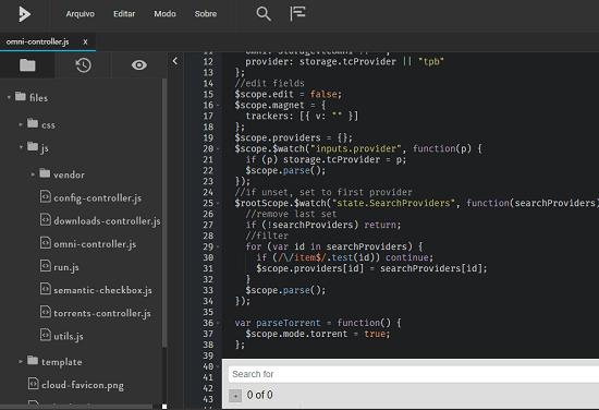 Free Online Code Editor with GitHub, GitLab, Dropbox Integration