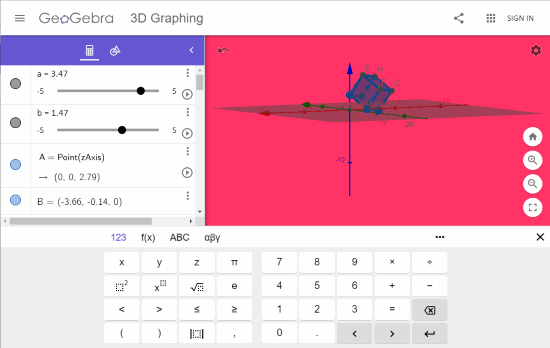 4 Online 3D Graphing Free Websites