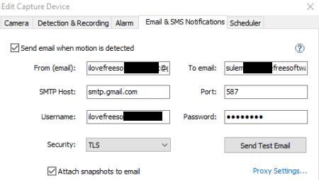 Gmail SMTP Settings