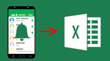 How to Export Android Notification History to Excel