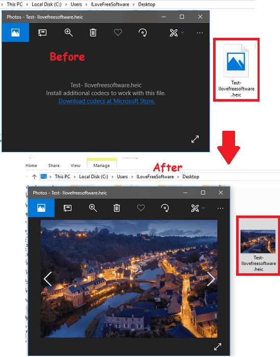 How to Open HEIC File in Windows 10 Photos App