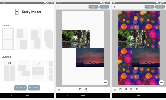 free Instagram story maker apps