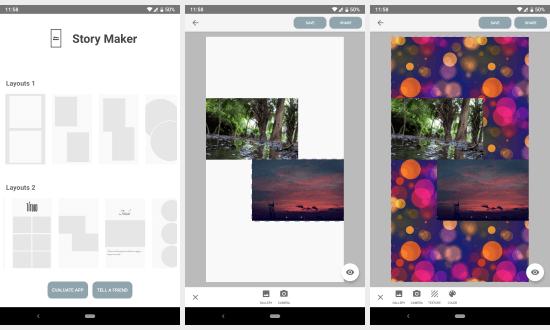 free Instagram story maker apps