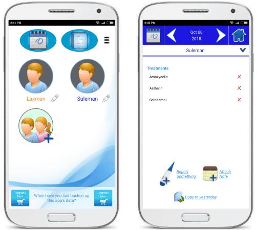 Medicalog for Families medication log app