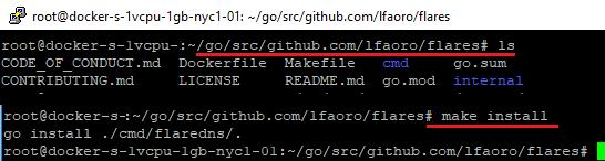 build falres on Linux