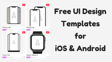 5 Websites to Download Free UI Design Templates for iOS, Android