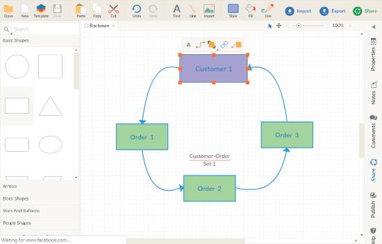 make bachman diagram free
