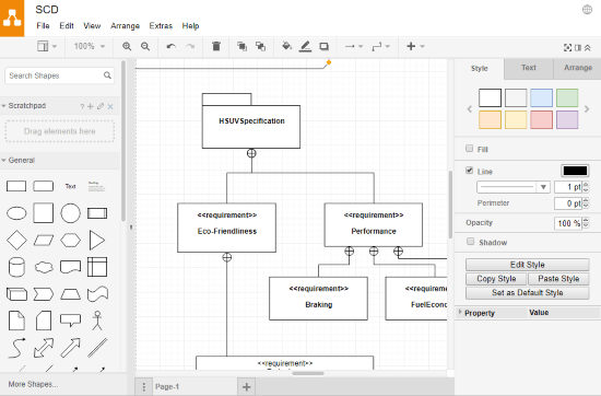 free online system context diagram maker