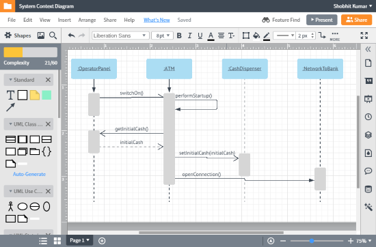 free online context diagram maker
