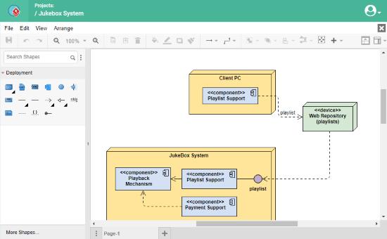 online deployment diagram maker free