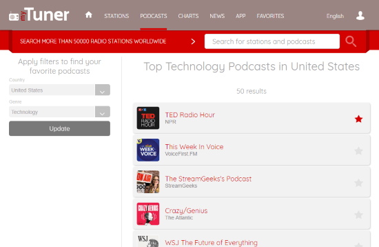 free online podcasts