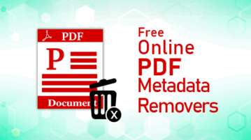 online pdf metadata removers