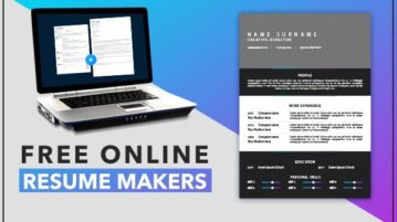 online resume makers free
