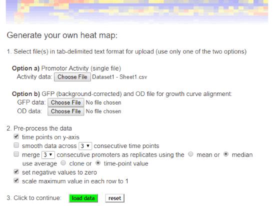 free online heatmap generator