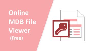 3 Online MDB File Viewer Websites Free