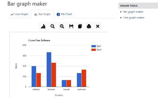 10 Free Online Bar Chart Maker