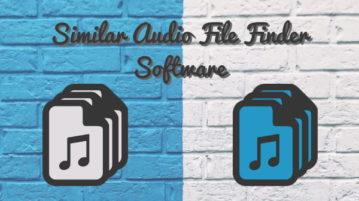 4 Free Similar Audio File Finder Software For Windows