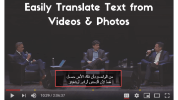 Translate Text From Videos, Photos With This Free Chrome Extension
