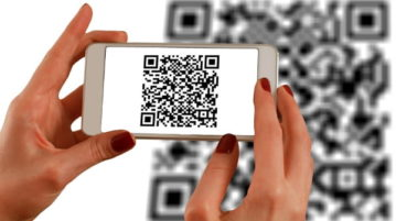 Add QR Code on your Website