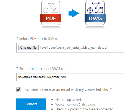 CADSoftTools PDF to DWG