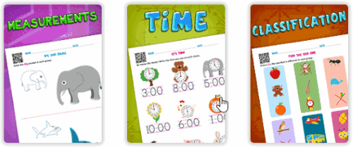 EDUBUZZKIDS Math worksheets