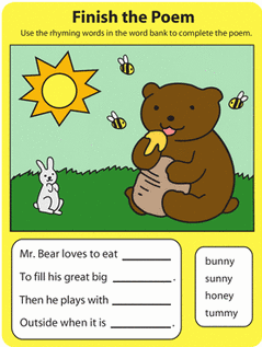 Education.com phonics worksheet