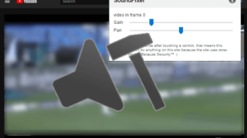 Firefox Addon to Fix Sound Issues in YouTube Videos