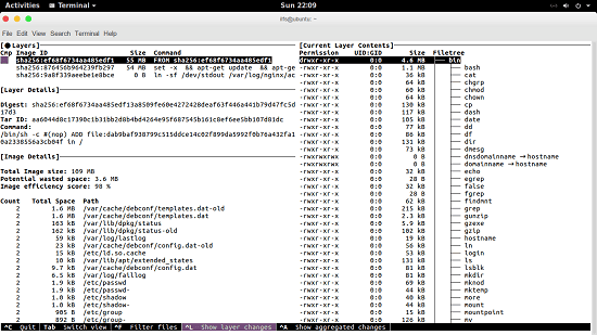 Free Docker Image Layers Explorer to See Each Layer in a Docker Image