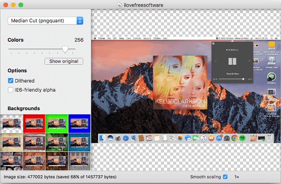 ImageAlpha free mac image optimizer