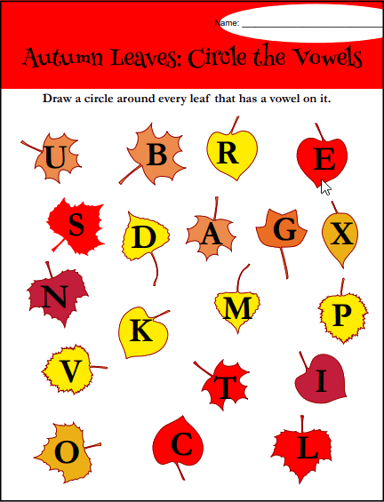 K12 Reader phonics worksheet