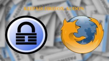 KeePass Firefox Addon