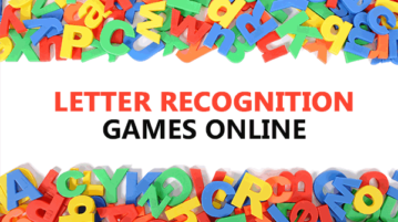 Letter recognition games online